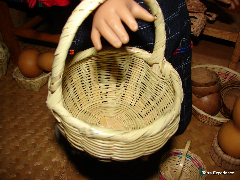 Visit a Guatemala Market and Basket Shop with Your 18\