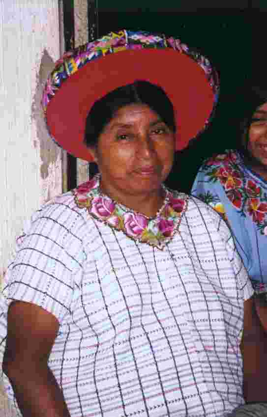 santiago atitlan, women with headpiece.JPG (60476 bytes)